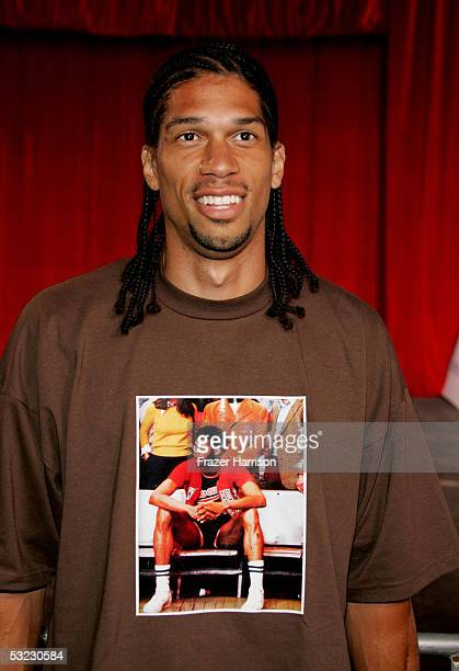 Kareem AbdulJabbar Jr arrives at the 2nd Annual Rollin' 24 Deep GM AllCar Showdown held at Paramount Pictures on July 12 2005 in Hollywood California