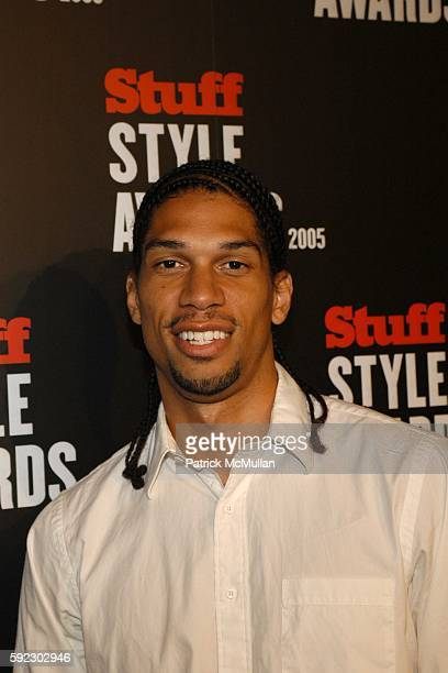 Kareem AbdulJabbar Jr attends The Stuff Style Awards 2005Arrivals at Hollywood Roosevelt Hotel on September 7 2005 in Hollywood CA