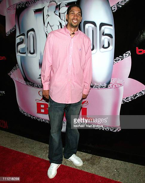 Kareem AbdulJabbar Jr during 2006 Lingerie Bowl After Party at Hollywood Roosevelt Hotel in Hollywood California United States