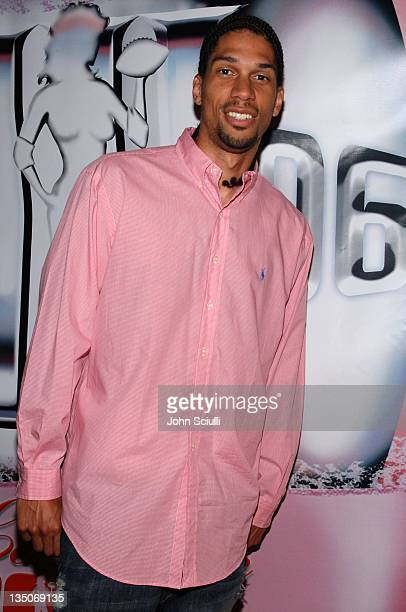 Kareem AbdulJabbar Jr during Bodogcom Presents the 2006 Lingerie Bowl After Party at Hollywood Roosevelt Hotel in Los Angeles CA United States