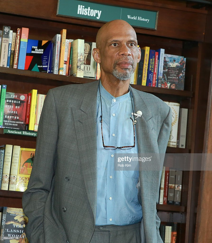 Kareem Abdul-Jabbar promotes his new book, 'Writings On The Wall: Searching