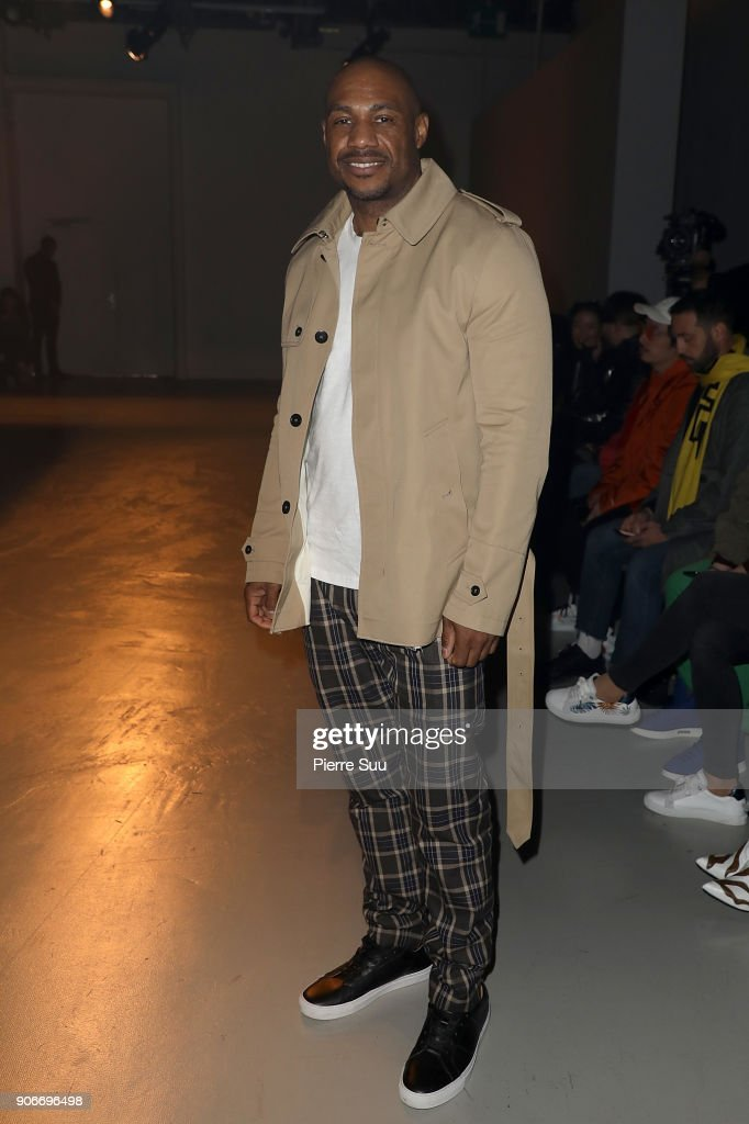 Boris Bidjan Saberi : Front Row - Paris Fashion Week - Menswear F/W 2018-2019