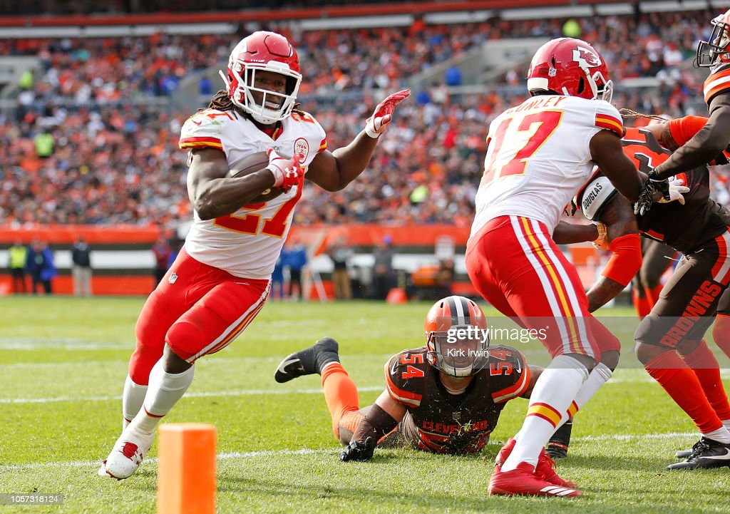 Kansas City Chiefs v Cleveland Browns : Nachrichtenfoto