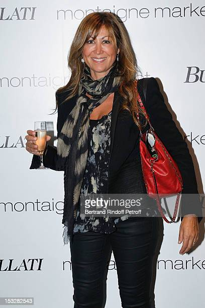 Kareen Hechter attends the Buccellati Blossom Butterfly and Daisy new collection presentation with the 4th generation of the Buccellati family at...