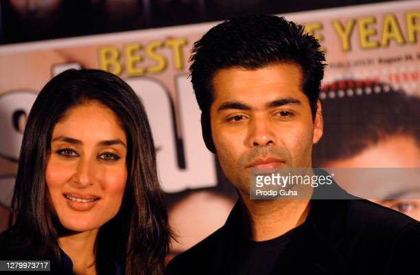 AUGUSt 13 : Kareena kapoor and Karan Johar attend the 1st year anniversary of star week magazine on August 13, 2010 in Mumbai, India