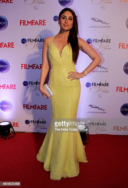 Kareena Kapoor at Ciroc Filmfare Glamour and style awards in Mumbai