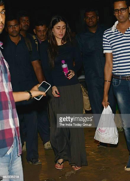 Kareena Kapoor going for a film shoot in Mumbai
