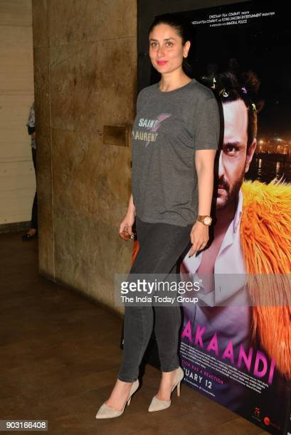 Kareena Kapoor Khan during the special screening of Kaalakaandi in Mumbai