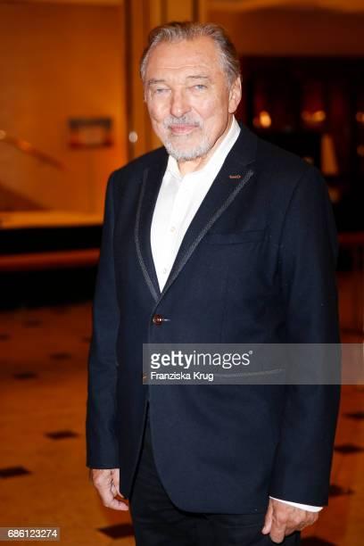 Karel Gott attends after the tv show 'Willkommen bei Carmen Nebel' at Velodrom on May 20 2017 in Berlin Germany