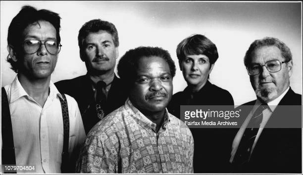 LR Karel Solomon Kris De Jagar Lancelot Capa Anne Petterson and Richard Lamp LampertMixed feelings about South Africa's future but happy to be here...