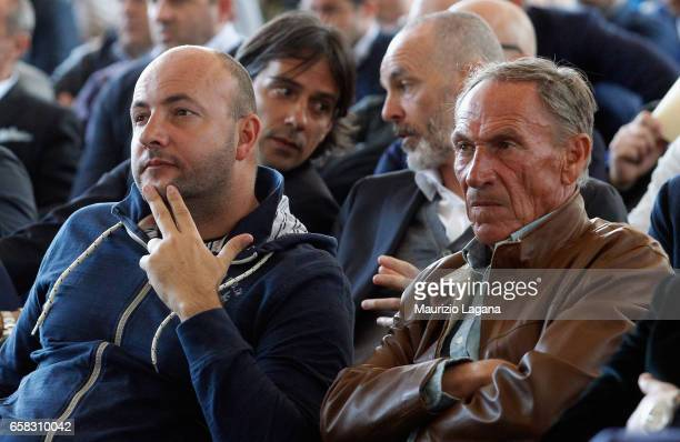 Karel Zeman of Reggina 1914 and Zdenek eman attends at Italian Football Federation 'Panchine D'Oro E D'Argento' Prize at Coverciano on March 27 2017...
