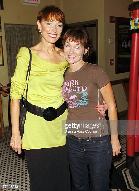 Karen Akers and Lari White attend the 3rd annual Broadway Cabaret Festival honoring Stephen Schwartz October 19 2007 at the Town Hall in New York City