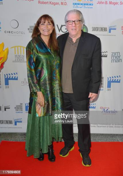 Karen Allen and Peter Reigert attend the 34th annual Fort Lauderdale International Film Festival's opening night party at Museum of Discovery...