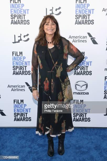 Karen Allen attends the 2020 Film Independent Spirit Awards on February 08 2020 in Santa Monica California