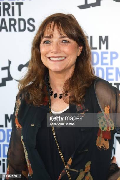Karen Allen attends the 2020 Film Independent Spirit Awards on February 08, 2020 in Santa Monica, California.