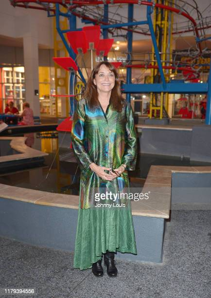 Karen Allen attends the 34th annual Fort Lauderdale International Film Festival's opening night party at Museum of Discovery & Science's Autonation...