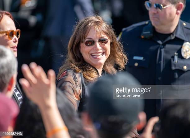 Karen Allen is seen on February 08, 2020 in Los Angeles, California.