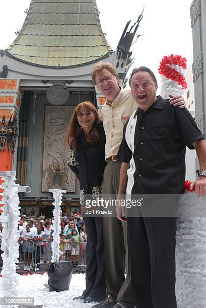 Karen Allen James Widdoes and Stephen Furst during Animal House 25th Anniversary Ultimate Homecoming Parade DVD Release Extravaganza at Hollywood...