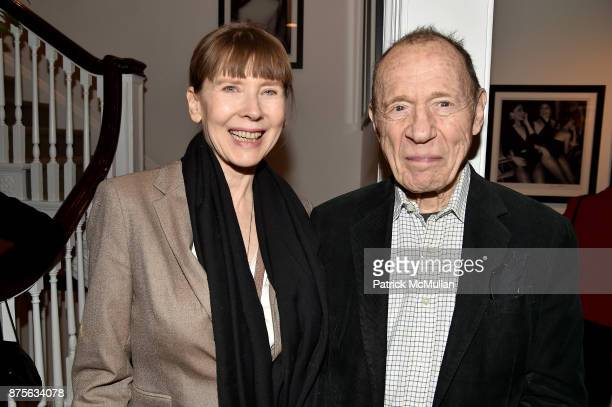 Karen Allison and Anthony HadenGuest attend Edelman Arts The Infamous Rose Hartman at Edelman Arts on November 17 2017 in New York City