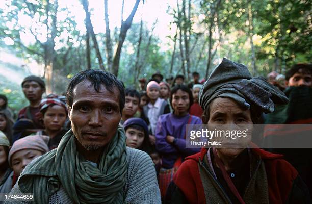 Karen and Karenni people are hiding in a jungle after they abandoned their villages which the Burmese army was planning to invade These internal...