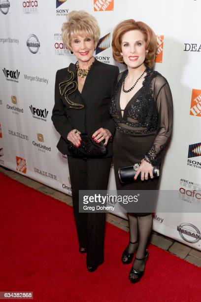 Karen and Kat Kramer attend the 8th Annual AAFCA Awards at the Taglyan Complex on February 8 2017 in Los Angeles California