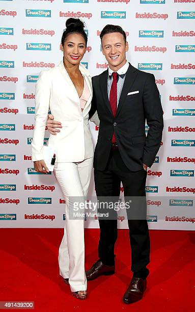 Karen and Kevin Clifton attend the Inside Soap Awards at DSKTRT on October 5 2015 in London England