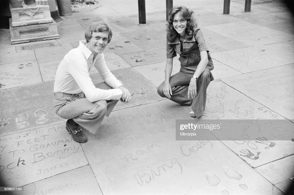 Karen and Richard Carpenter : News Photo