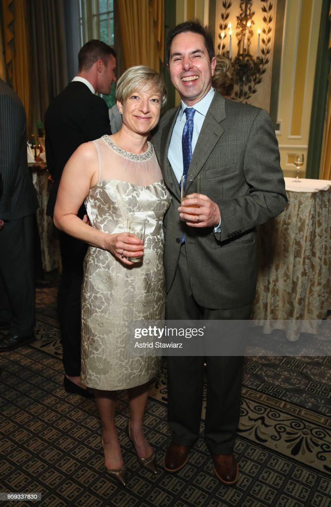 Karen Andonian and Brad Andonian attend the National Eating Disorders Association Annual Gala 2018 at The Pierre Hotel on May 16, 2018 in New York City.