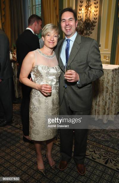Karen Andonian and Brad Andonian attend the National Eating Disorders Association Annual Gala 2018 at The Pierre Hotel on May 16 2018 in New York City