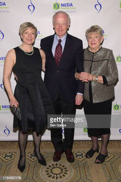 Karen Andonian Don Nielsen and Melissa Nielsen attend the National Eating Disorder Association's Annual Gala on April 2 2019 in New York City