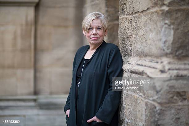 Karen Armstrong religious scholar and author of 'A History of God' on Day 5 of the FT Weekend Oxford Literary Festival on March 25 2015 in Oxford...
