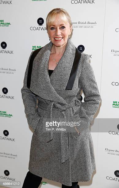 Karen Barber attends Coat Walk at One Great George Street on October 4 2014 in London England