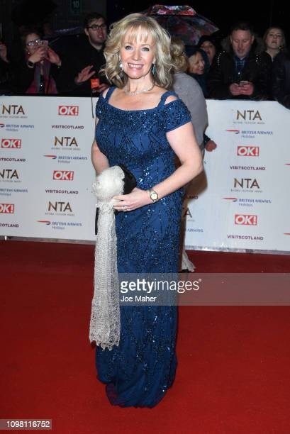 Karen Barber attends the National Television Awards held at The O2 Arena on January 22 2019 in London England