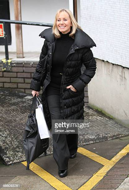 Karen Barber sighting at ITV on January 31 2014 in London England