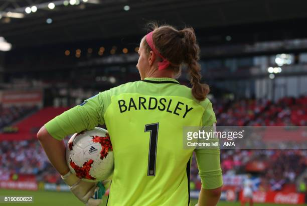 Karen Bardsley of England Women during the UEFA Women's Euro 2017 match between England and Scotland at Stadion Galgenwaard on July 19 2017 in...