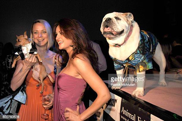 Karen Biehl and Maria Kanellis attend ANIMAL FAIR Magazine's 9th Annual PAWS FOR STYLE Presented By Wendy and Lucky Diamond Lauren and Chloe Conrad...