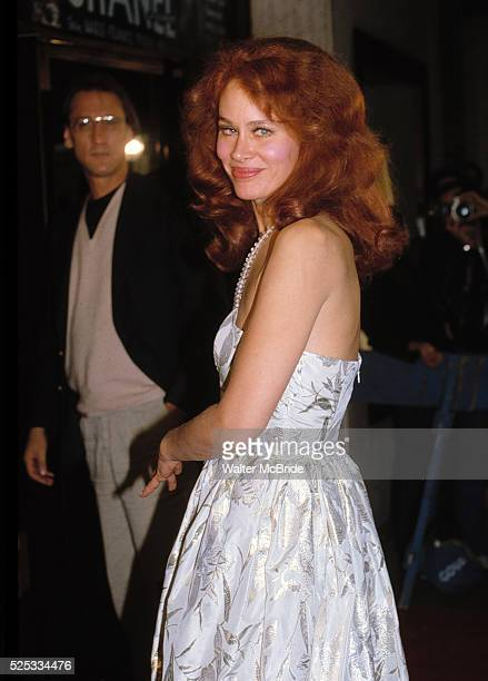 Karen Black with Paul Williams attending the 'Chanel Solitaire' Premiere in New York City 9/1/1982