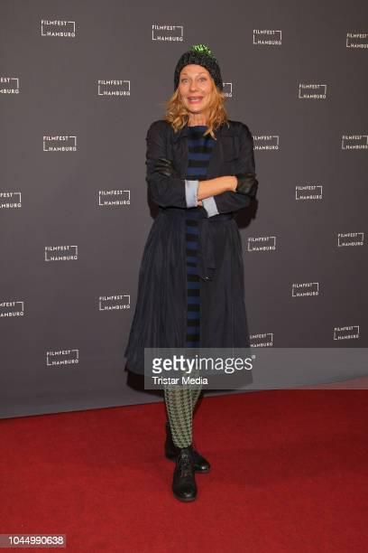 Karen Boehne during the German premiere of the film 'Halloween' during the Hamburg Film Festival on October 02 2018 in Hamburg Germany