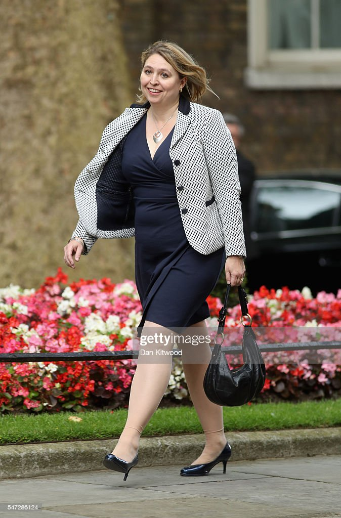 Karen Bradley arrives at 10 Downing Street where she was appointed as Culture Secretary, as Prime Minister Theresa May continues to appoint her cabinet on July 14, 2016 in London, England. The UK's New Prime Minister began appointing the key Ministerial positions in her cabinet shortly after taking up residence at Number 10 Downing Street.