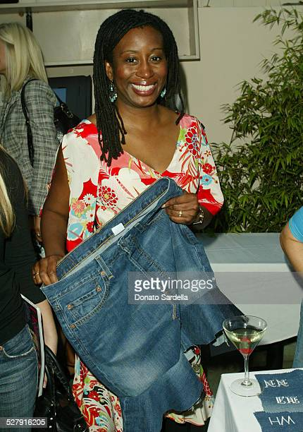 Karen Brailsford during Levi's 501Caroline Calvin Reception at The Pearl Restaurant in West Hollywood California United States