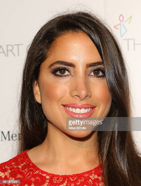 Karen Brooks attends The Art of Elysium's 7th Annual HEAVEN Gala presented by Mercedes-Benz at Skirball Cultural Center on January 11, 2014 in Los...