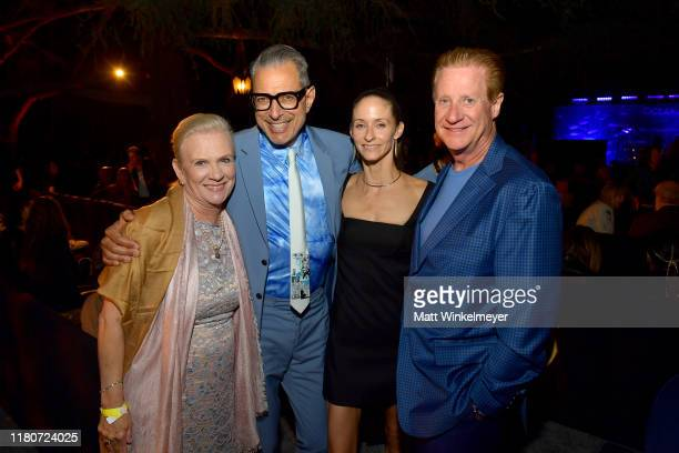 """Karen Cahill, Emilie Livingston, Jeff Goldblum and Bruce Cahill attend Oceana's Fourth Annual """"Rock Under The Stars"""" Featuring The Red Hot Chili..."""