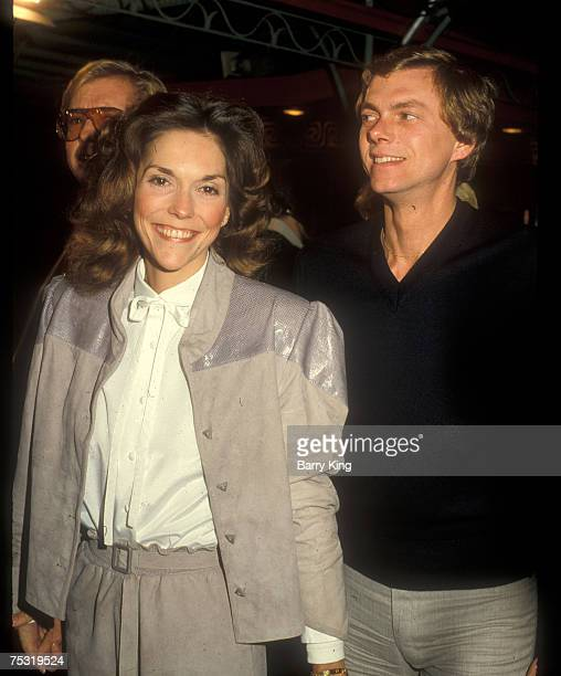 Karen Carpenter and Richard Carpenter attend the Popeye premiere at Mann's Chinese Theatre in Hollywood CA 1980
