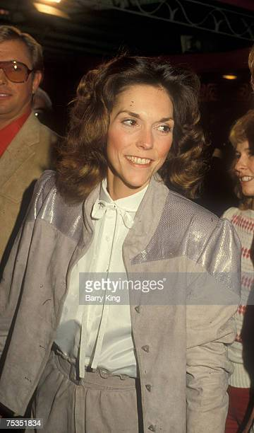 Karen Carpenter attends the Popeye premiere at Mann's Chinese Theatre in Hollywood CA 1980