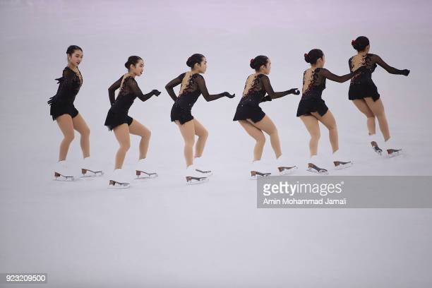 Karen Chen of the United States competes during the Ladies Single Skating Free Program on day fourteen of the PyeongChang 2018 Winter Olympic Games...