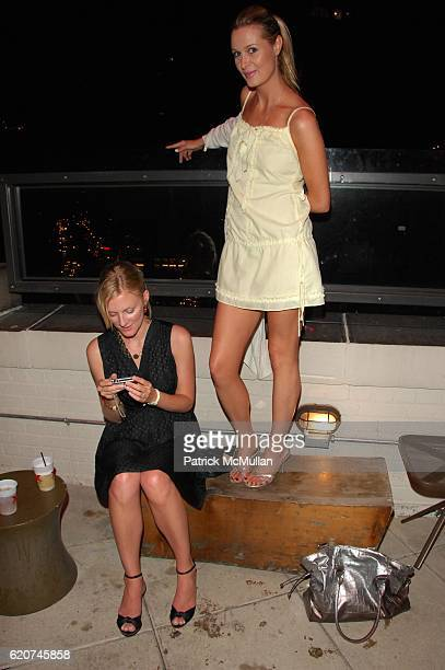 Karen Chiotellf and Pia Lindstrom attend MAXIM hosts STEP BROTHERS private screening and after- party at AMC Loews Lincoln Square on July 21, 2008 in...