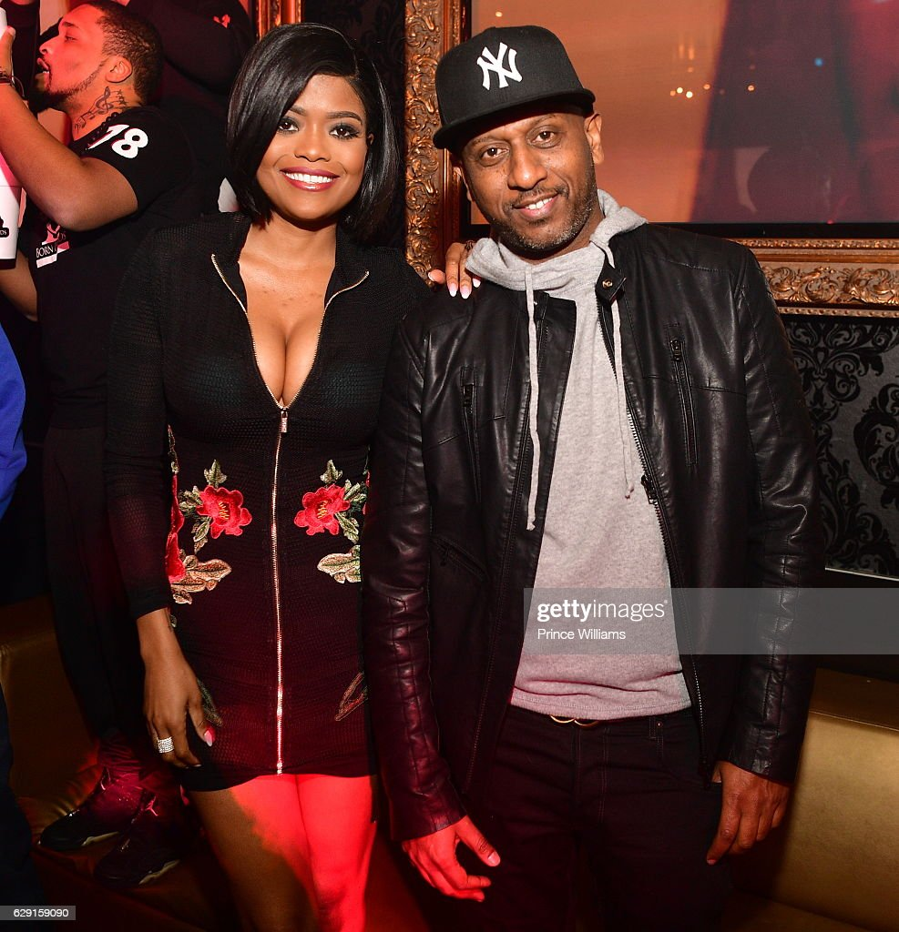 Karen Civil and Alex Gidewon attend the Concert afterparty Featuring Jeezy + Wayne at Compound on December 11, 2016 in Atlanta, Georgia.