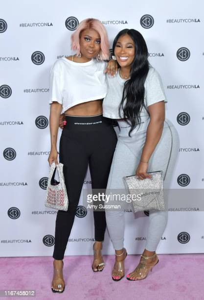 Karen Civil and Ming Lee attend Beautycon Festival Los Angeles 2019 at Los Angeles Convention Center on August 11 2019 in Los Angeles California