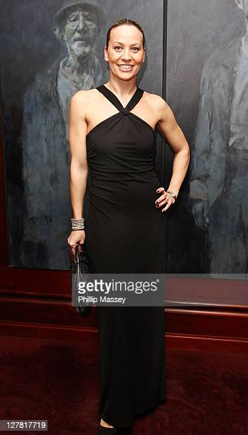 Karen Corradi attends the Peter Mark VIP Style Awards at The Shelbourne Hotel on March 25 2011 in Dublin Ireland