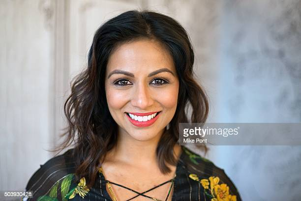 """Karen David attends the AOL BUILD Series to discuss the TV series """"Galavant"""" at AOL Studios In New York on January 7, 2016 in New York City."""